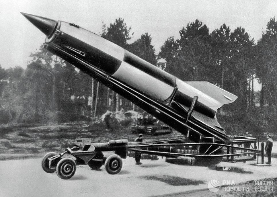 ракета гитлера