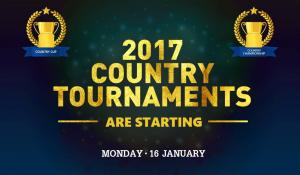 The January Country Tournaments Start