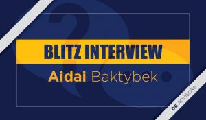 Blitz interview with Aidai Baktybek