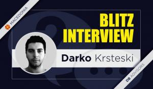 Blitz interview with Darko Krsteski