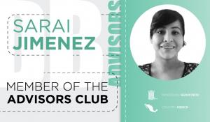 How does Sarai Jimenez combine work and care?