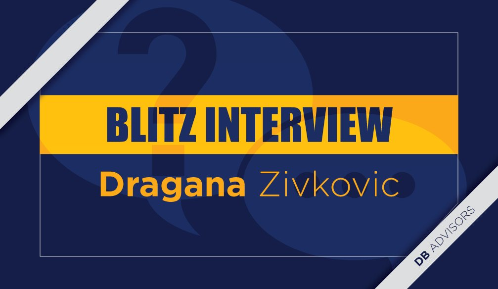 Blitz interview with Dragana Zivkovic-Micunovic