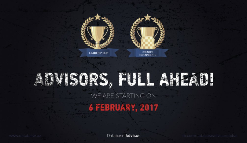 Database Advisor Launches Three Tournaments in February