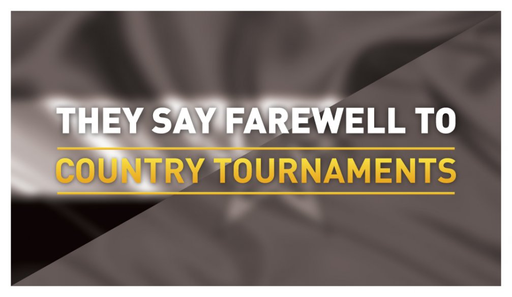 Tournaments from 2 Countries Canceled!