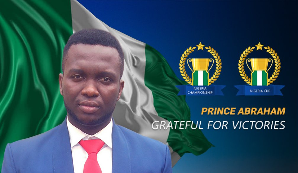Prince Abraham Says Winning is a Privilege