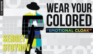 "Wear your colored ""Emotional cloak"""
