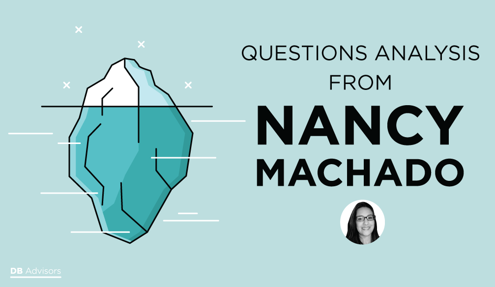 Questions (21.02.18) analysis from Nancy Machado