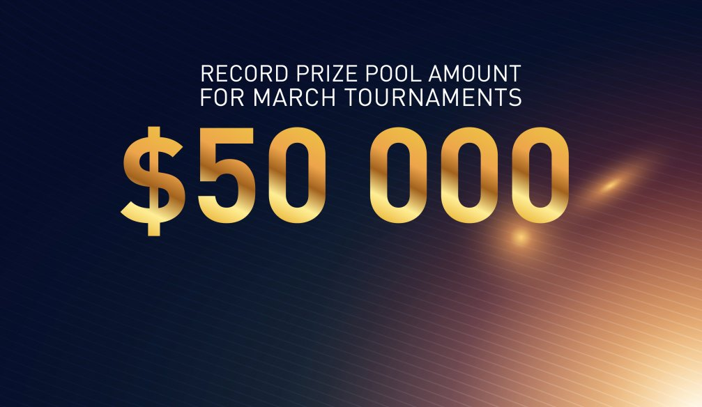 Database Advisor Increases Overall Tournament Prize Pool to 50,000 USD