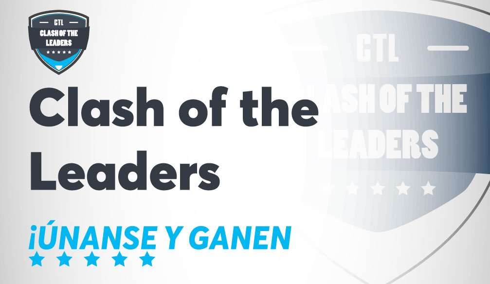 ¡Nuevo torneo Clash of the Leaders!