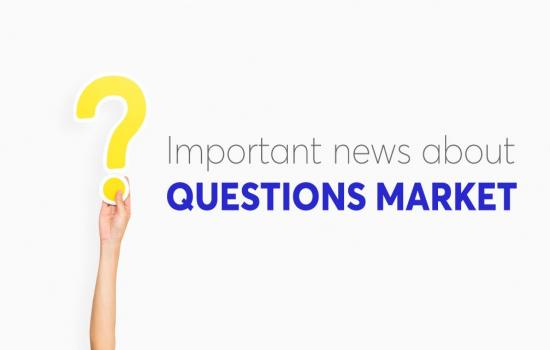 News about Questions Market