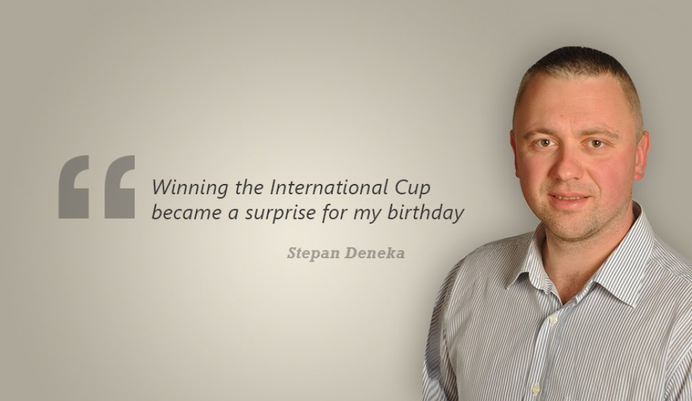 "Stepan Deneka: ""My Desire to Win Grew with Every Day"""