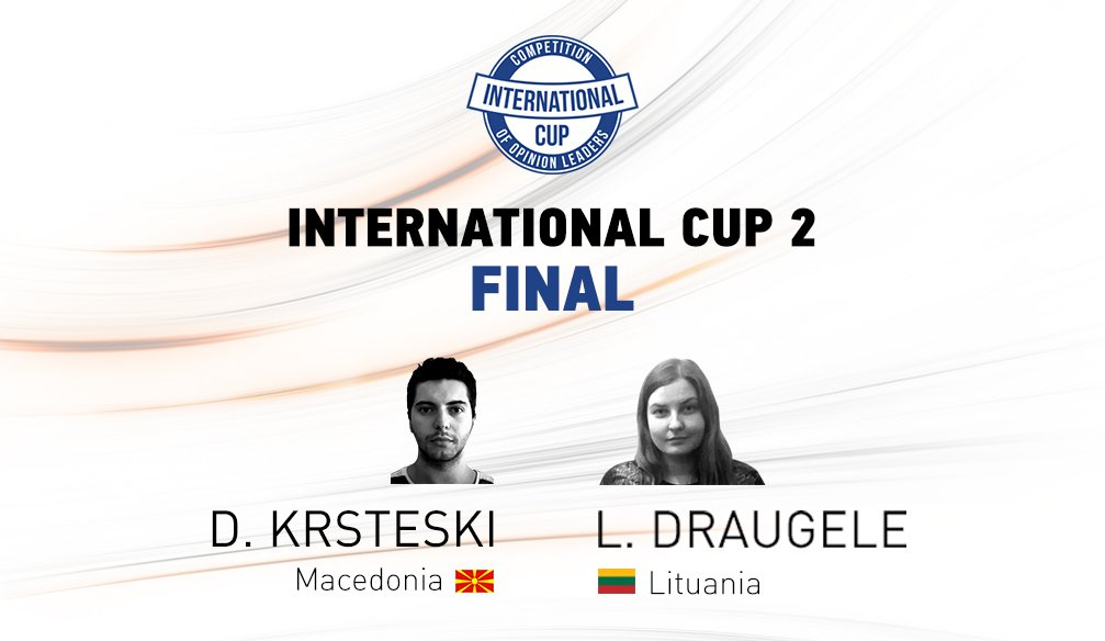 International Cup 2 Finalists (Updated)
