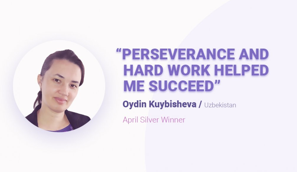 "Oydin Kuybisheva: ""One Can Achieve Great Results If One Wants It"""