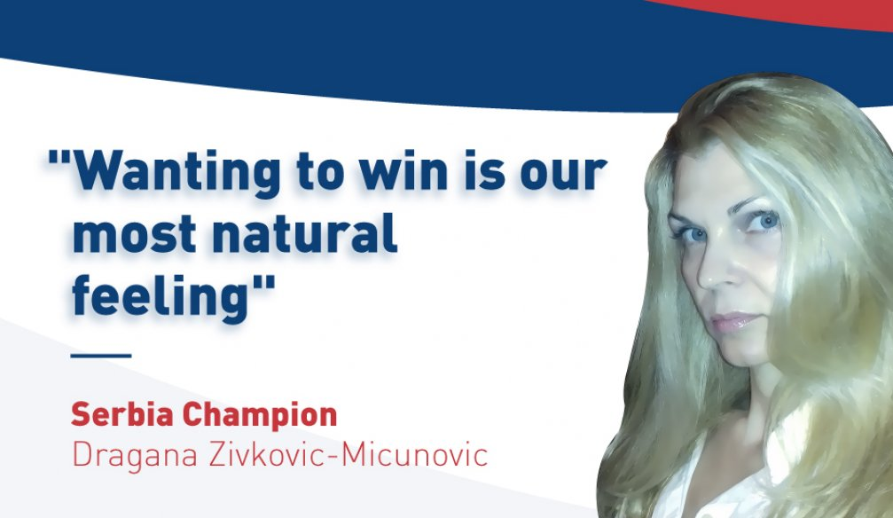 "Dragana Zivkovic-Micunovic: ""Sometimes My Personal Views Are Too Strong"""