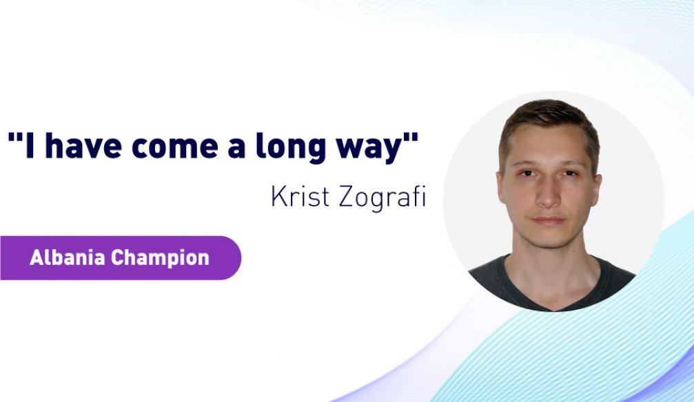 "Krist Zografi: ""Achievements are a Part of Life"""