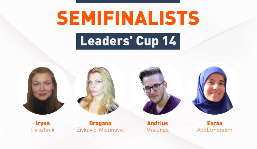Semifinalists at Leaders' Cup 14