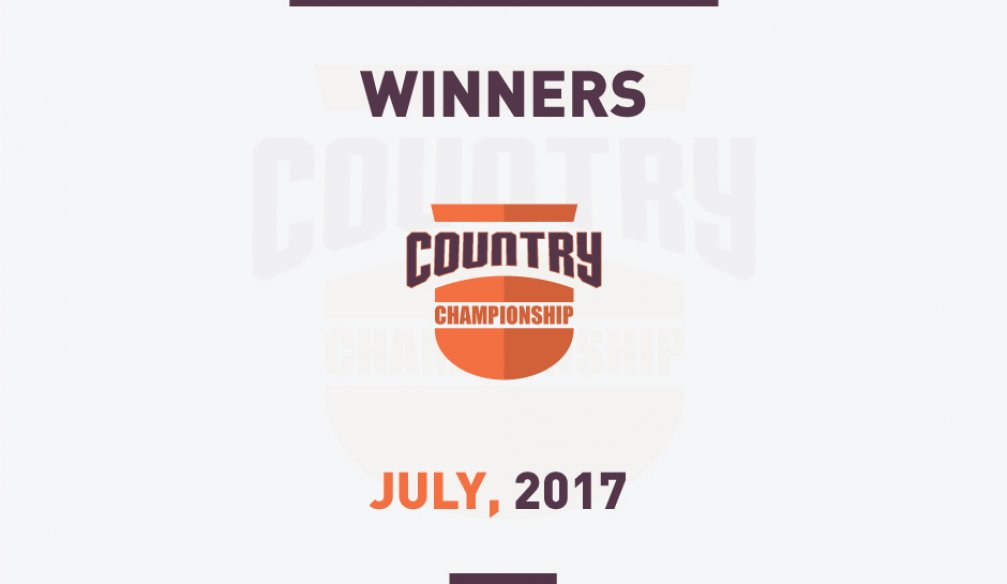 July Country Championship Results