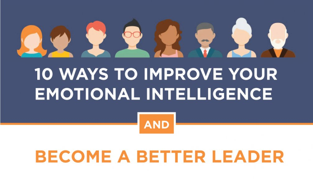 10 Ways To Improve Your Emotional Intelligence and Become a Better Leader