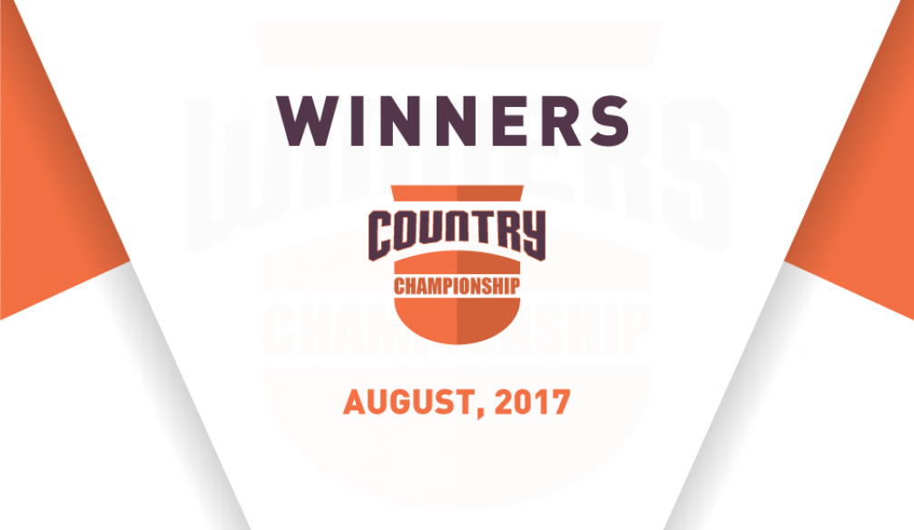 August Country Championship Results