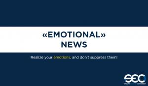 """Emotional"" news."