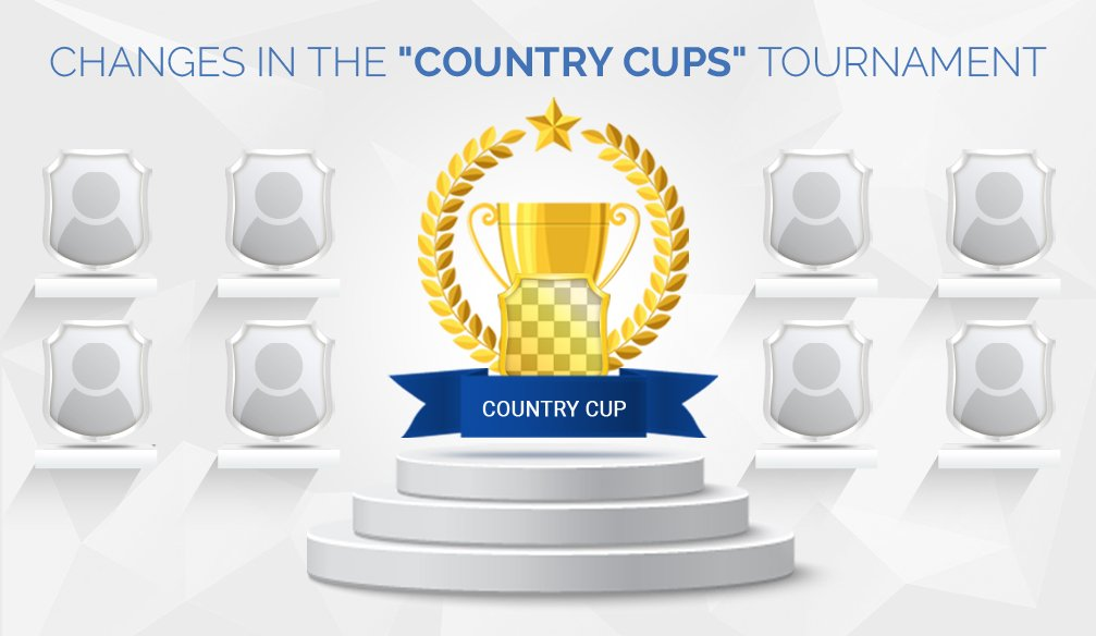 "Changes in the ""Country Cups"" Tournament"