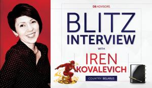 Blitz interview with Iren Kovalevich