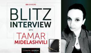 Blitz Interview with Tamar Midelashvili