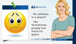 Sadness is a part of human life, however...