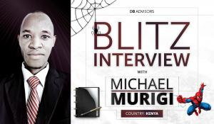 Blitz Interview with Michael Murigi