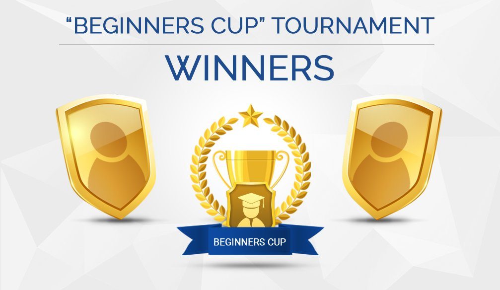 First Winners of the Beginners Cup Tournament