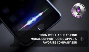 Want moral support, but where to find it?