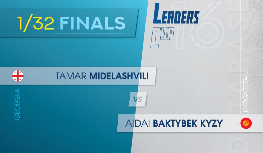 Leaders' Cup 16: Tamar Midelashvili against Aidai Baktybek kyzy