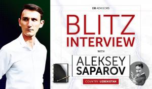 Blitz Interview with Aleksey Saparov