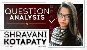 Question Analysis by Shravani Kotapaty