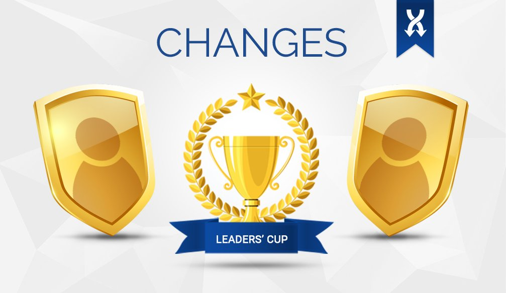 "Changes in ""LEADERS' CUP"" Tournament"