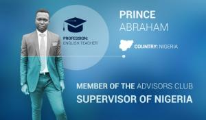 Interview with Prince Abraham, whose income is above $300 per month