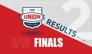 Union Cup 2: The participants of the 1/8 finals are determined