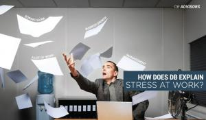 Why do people experience stress at work?