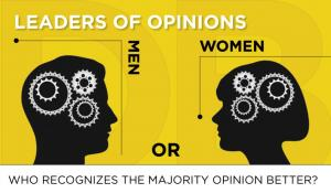 Who recognizes the majority opinion better?