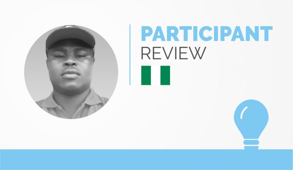 Participant Review – Hilary Chukwu