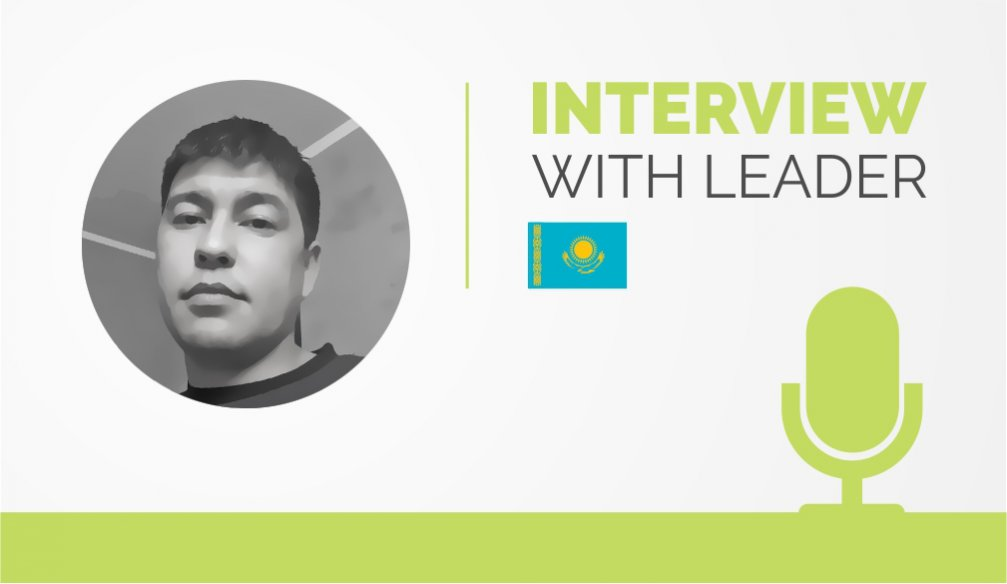 Interview with the Leader – Marat Kozhakhmetov