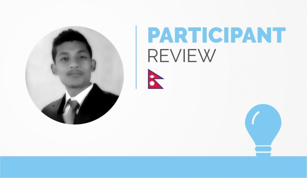 Participant Review – Suvash Shrestha
