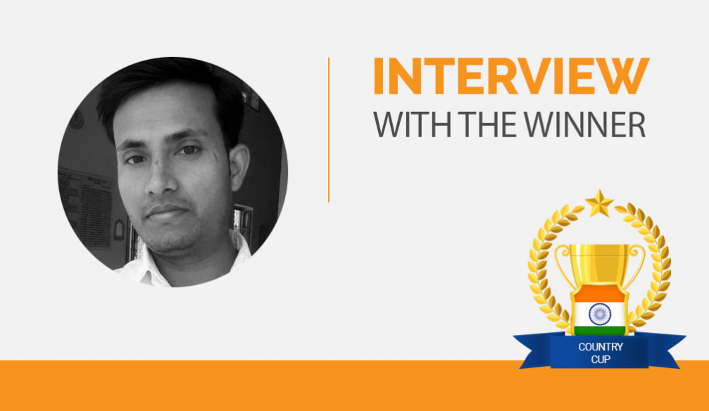 Interview with the Winner – Mintu Mistry