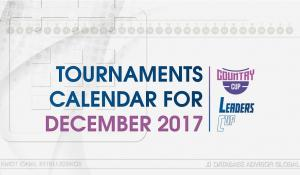 Two tournaments have started - Leaders' Cup 17 and Country Cup