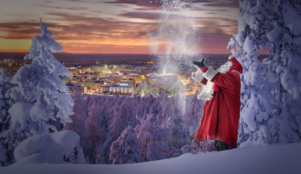 Biography of fairy-tale Santa